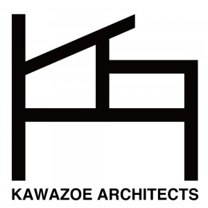 河添建築事務所 | KAWAZOE ARCHITECTS LOGO